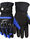 Motorcykel Handskar Helt finger Tyg/Mjukt Läder/TPU M/L/XL Röd/Svart/Blå