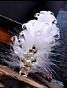 handgjorda bröllops fjäder hår klipp fascinator stycken Fascinators 013