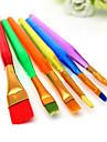 6 st tårta pensel fondant dekor målarverktyg isbildning ställer damning diy sugarcraft