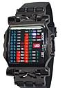 Men Watches 2015 Binary Led Business Watch Creative Multifunction Unisex Watches Wrist Watch Cool Watch Unique Watch Fashion Watch