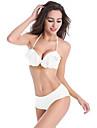 Femei Bikini Femei Cu Susținere Solid / Volane Sutiene cu Întăritură Spandex / Nailon