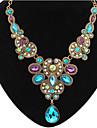 MISSING U Vintage / Party Alloy / Rhinestone / Gemstone & Crystal Statement Necklace