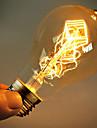 40w e27 Edison retro ampoule ST64 A19 (220-240V)