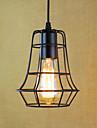 Max 60W Hängande lampor ,  Traditionell/Klassisk / Vintage / Kontor/företag / Rustik Rektangulär Särdrag for Ministil MetallBedroom /