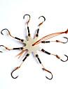 Fiske krokar Fiske-1 st Svart Metall-# Sjöfiske / Spinnfiske / Drag-fiske / Generellt fiske / Trolling & Båt Fiske