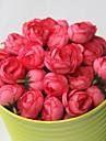 Une succursale Polyester Roses Fleurs artificielles 0.25*0.25*0.25