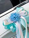 Artificial Flower Lace Decoration Car Door & Rearview Mirror(18*40cm)