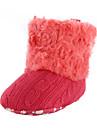 Garcon Fille-Exterieure Decontracte Habille-Noir Marron Blanc CorailPremieres Chaussures-Bottes-Fourrure