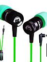 plextone® G10 dans l\'oreille jeux e-sport metal ecouteurs de basse lourde avec micro pour iPhone6 / iPhone6 ainsi mobilephone / pad /