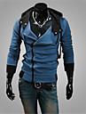 Sets Activewear Pour des hommes Manches longues Decontracte / Travail / Sport / Grandes Tailles Couleur plaine Melange de Coton