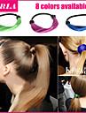 3pc / lot elastiskt hår rep kvinnor pannband håraccessoarer bandet hästsvans innehavaren peruk rep hår den flätade tonytail