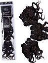 Tissages de cheveux humains Cheveux Bresiliens Boucle 12 mois 3 Pieces tissages de cheveux