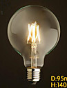 Decorative Ampoules Globe , E26/E27 6 W LED Integree LM V
