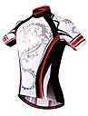 Wosawe® Maillot de Cyclisme Femme / Homme / Unisexe Manches courtes Velo Respirable / Sechage rapide / Compression / Pocket RetourShirt /