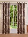 en panel modern geometriska sovrum fåglar polyester panelgardiner draperier