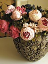 Une succursale Soie Pivoines Fleur de Table Fleurs artificielles 48(18.9\'\')
