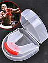 Protege-dents Muay-thai Boxe Karate Double Face Portable Multifonction Equipement de protection Le Gel de Silice-SUTEN®