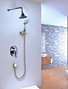 Shower Faucet Contemporary Rain Shower / Handshower Included Brass Chrome
