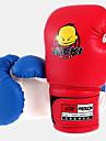 Boxningshandskar Handskar Barns Stötsäker Andningsfunktion Bärbar Hög Elasisitet Lättvikt Boxing Konstläder Röd Blå