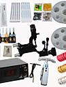 libellule rotative kit machine a moteur de tatouage buses puissance numerique aiguilles d\'alimentation en encre de haute qualite