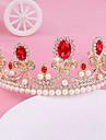 Bride\'s Golden Rhinestone Crystal Forehead Wedding Crown Headwear  1 PC