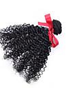 Tissages de cheveux humains Cheveux Bresiliens Boucle 12 mois 1 Piece tissages de cheveux