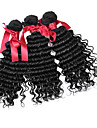 brasiliansk löst lockigt våg hår 7a grade brasilianska jungfru afro kinky lockigt hår väva 100% människohår 3st
