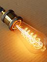 e27 ST64 fil autour de 40W 220V-240V Edison retro ampoules decoratives