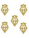 10 - Bijoux pour ongles / Autre decorations - Doigt / Orteil / Autre - enBande dessinee / Fruit / Fleur / Abstrait / Adorable / Punk /