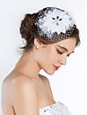 Women\'s Silk Headpiece-Wedding / Special Occasion Birdcage Veils