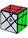 Cube de Vitesse  Alien Vitesse Cubes magiques Noir Autocollant lisse Crazy YiLeng Anti-pop ressort reglable ABS