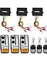 3 x trådlös vinsch fjärrkontroll kit 12v för lastbils jeep suv atv