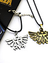 Bijoux Inspire par The Legend of Zelda Cosplay Anime/Jeux Video Accessoires de Cosplay Colliers Dore / Argente Alliage Masculin / Feminin