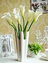 Polyester Lis Calla Fleurs artificielles