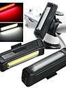 Cykellyktor / Lyktor & Tältlampor / Framlykta till cykel / Baklykta till cykel / säkerhetslampor LED - CykelsportStöttålig / Enkel att