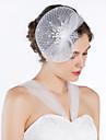 Gorgeous Net Med Pearl / Rhinestone Kvinners Fascinators