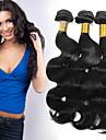 evet hårprodukter brasilianska jungfru hår bunt brasiliansk förkroppsligar vinkar människohår 6a klass virgin hår förkroppsligar vinkar
