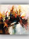HANDMÅLAD Abstrakt / Känd / Stilleben / fantasi / FritidStil / Moderna / Realism En panel Kanvas Hang målad oljemålning For Hem-dekoration