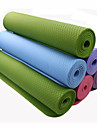 TPE Tapis de Yoga 183*80*0.6 Non Toxic 6 mm Orange / Violet / Rose / Bleu / Vert #
