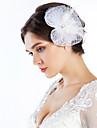 Elegant Net With Pearl/Feather Women\'s Fascinators