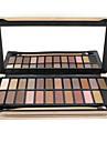 24 Palette de Fard a Paupieres Sec / Mat / Lueur / Materiel Fard a paupieres palette Poudre NormalMaquillage Quotidien / Maquillage de