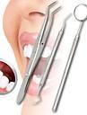 3p / lot rostfritt tandvård undersöker verktyg set kit tandläkare tänder rena hygien plockar