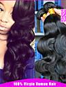 les cheveux indiens vierges 3 regroupe 100% cara de cheveux humains produits indiennes de cheveux de vague de corps non transformes