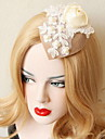 קישוטי שיער כיסוי ראש נשים חתונה / אירוע מיוחד תחרה / דמוי פנינה / בד חתונה / אירוע מיוחד חלק 1