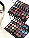 24 Colors Ögonskuggspalett Skimmrig Ögonskugga palett Puder Set Sotig makeup