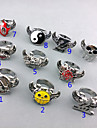 Smycken Inspirerad av One Piece Trafalgar Law Animé Cosplay Accessoarer Ring Silver Legering Man