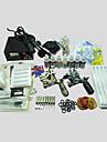 2 tatueringsmaskin basekey tatuering kit 218 maskin med strömförsörjning grepp koppar nålar (bläck ingår ej)