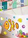 Jul / Blommig / Högtid / Landskap Wall Stickers Väggstickers i 3D , pvc 50x70x0.1cm