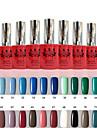 1 PCS ANA 192 Colors Gelpolish Nail Art Soak Off UV Nail Gel Polish 12ml 49-72