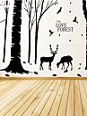 Botanic / Crăciun / Natură moartă / Modă / Hrană / Vacanță / Peisaj / Fantezie Perete Postituri Autocolante perete plane , Vinyl stickers